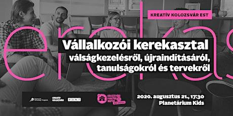 Kreatív Kolozsvár est: Vállalkozói kerekasztal-beszélgetés tickets