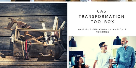 Online Info-Abend CAS Transformation Toolbox 2020/2021 Tickets