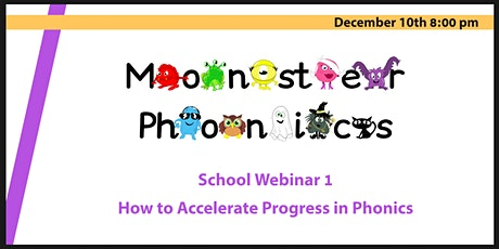 School Webinar 1: How to Accelerate Progress in Phonics tickets