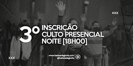 3a. CELEBRAÇÃO NOITE - 16/08 ingressos