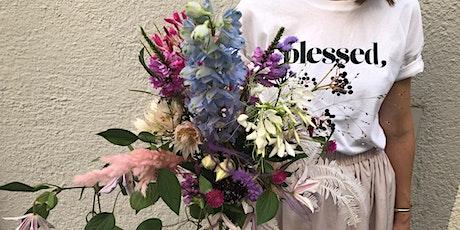 SOIS BLESSED  Flower Workshop - Wild Late Summer Bouquet Tickets