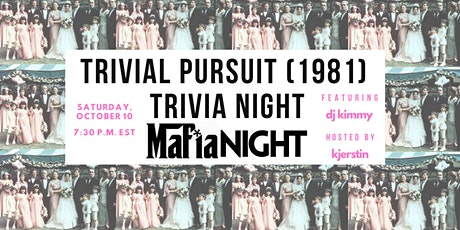 Trivia Pursuit (1981) Trivia Night:  Mafia Night tickets