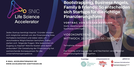 Bootstrapping, Business Angels, Family and Friends & Co. – so entscheiden s Tickets