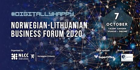 Norwegian-Lithuanian Business Forum 2020 tickets