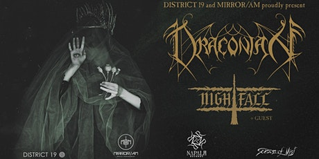 MCLX presents Draconian + Nightfall tickets