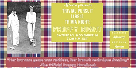 Trivia Pursuit (1981) Trivia Night: Preppy Night tickets