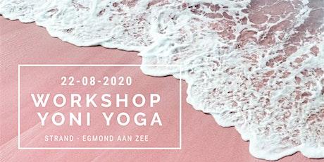 Workshop Yoni Yoga  op het strand van Egmond aan zee tickets