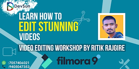 Professional Video Editing Workshop By Ritik Rajgire tickets