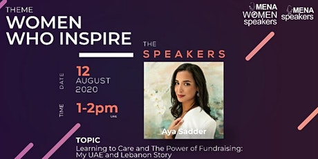 Learning to Care and The Power of Fundraising: My UAE and Lebanon Story tickets