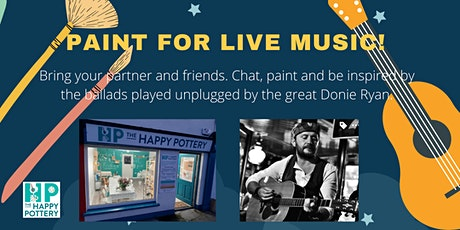 Paint for Music at The Happy Pottery! tickets