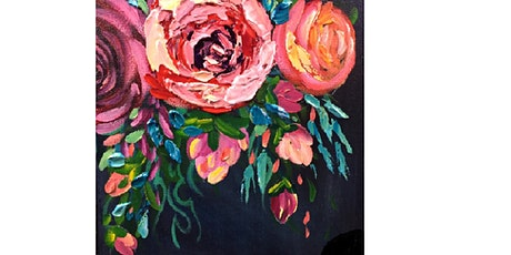 Abstract Roses with Pallet Knife- Paint Night tickets