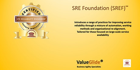 SRE (Site Reliability Engineering) Foundation - VIRTUAL WORKSHOP tickets