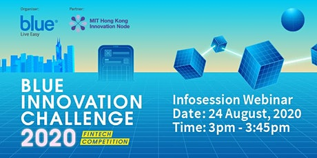 Blue Innovation Challenge 2020 - Infosession tickets