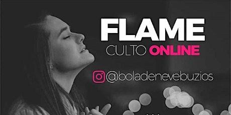 Culto Flame 19:27 ingressos