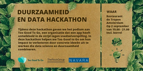 Data Science and Sustainability Hackathon tickets