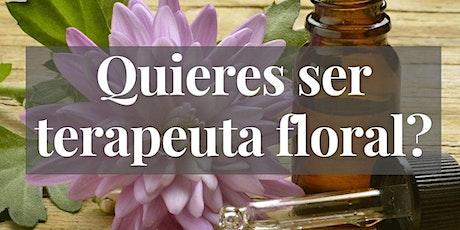¿Quieres ser terapeuta floral? entradas