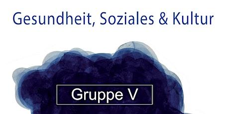 Kulturstation-Tag Gruppe V: Schreibwerkstatt Tickets