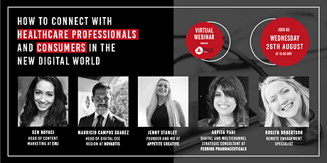 How to Connect with HCPs and Consumers in the New Digital World tickets