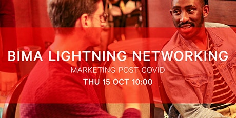 BIMA Lightning Networking | Marketing Post-Covid tickets