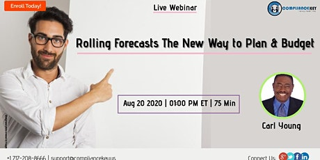 Rolling Forecasts The New Way to Plan & Budget tickets