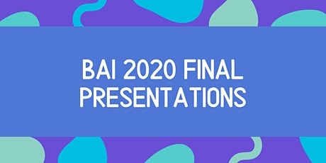 The 2020 Bloomberg Arts Internship Final Presentations tickets