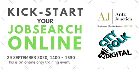 Kick-start Your Jobsearch Online (29 September 2020) tickets