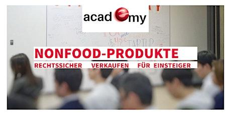 Nonfood-Produkte rechtssicher verkaufen für Einsteiger Tickets