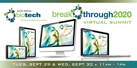 South Dakota Biotech Breakthrough Virtual Summit 2020 tickets