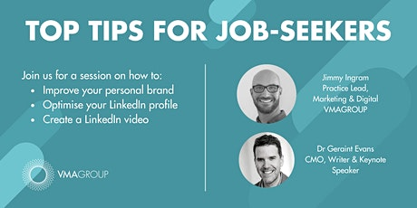 Top tips for job-seekers: how to improve your personal brand tickets
