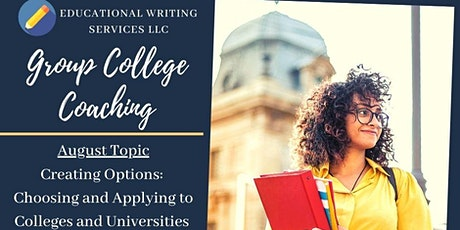 Creating Options: Choosing and Applying to Colleges and Universities tickets