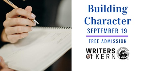 Writers of Kern September Meeting - Building Character with Leslie Budewitz tickets