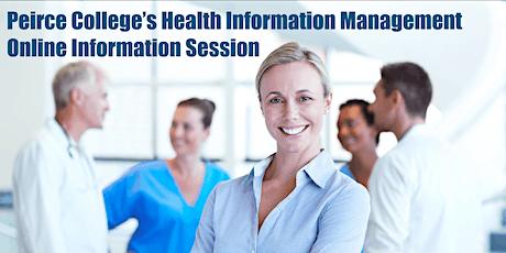 Health Information Management Online Information Session tickets