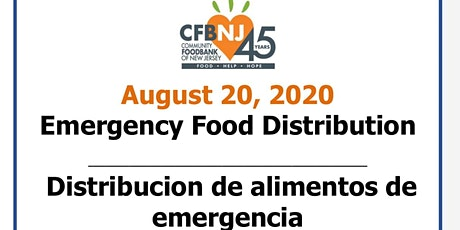 Emergency Food Distribution/Distribucion de alimentos de emergencia tickets