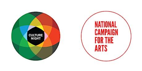 Webinar: Culture Night and the Artist   Oíche Chultúir agus an Ealaíontóir tickets