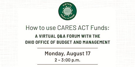 A Virtual Q&A Forum with the Ohio Office of Budget and Management tickets