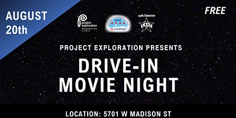 Project Exploration Drive-In Movie Night tickets