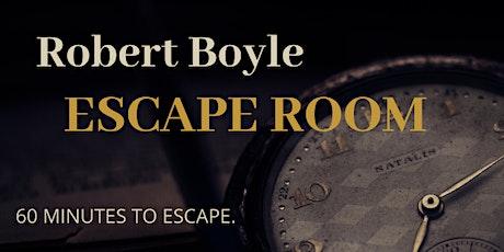 Robert Boyle Escape Room tickets