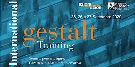 International Gestalt Training - Seconda edizione 2020 biglietti