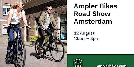 Ampler E-Bikes Road Show Amsterdam tickets