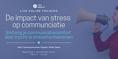 De impact van stress op communicatie tickets