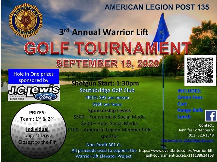Warrior Lift Golf Tournament image