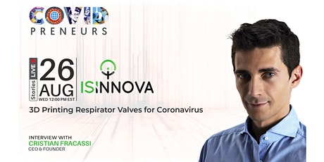 Hear Isinnova's story told by their CEO & Founder tickets