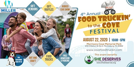 4th Annual Food Truckin to the Cove Festival tickets