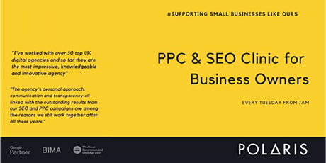 SEO and PPC Clinic tickets