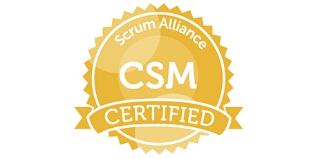 Certified ScrumMaster (CSM) class: Sep 2020 (Online over 4 afternoons) tickets