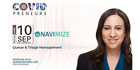 Hear Navimize's story told by their CEO & Founder tickets