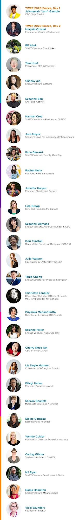 Toronto Women's Entrepreneurship Forum 2020 image