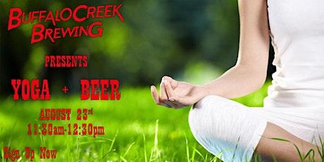 Outdoor Yoga & Beer tickets