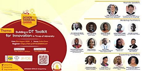Design Thinking Ghana Conference 2020 (DTGC2020) billets