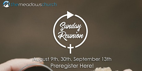 Reunion | August 30th tickets